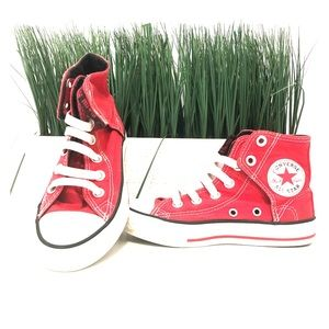 Converse All-Star Red High Top with easy wear